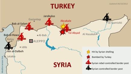 Turecko, Sýrie