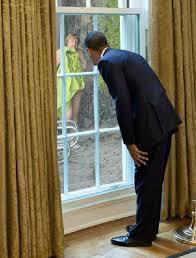 Obama špehuje Merkelovou