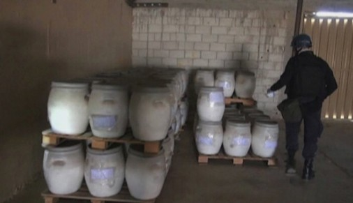 Syria chemicals removal 92.5% complete: OPCW